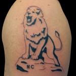 03-03-2014 Tattoo leone