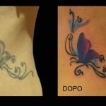 07-04-2015 Tattoo Ripasso Farfalla