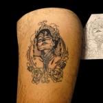10-11-2014 Tattoo Donna Scheletro Ripasso