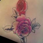 13-04-2015 Tattoo Rose ripasso
