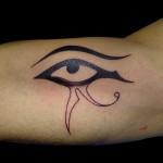 13-05-2014 Tattoo Occhio Di Horus (prima parte)