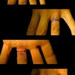 13-08-2015 Tattoo varie dita
