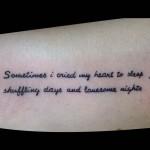 13-09-2016 Tattoo Scritta