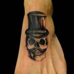 16-02-2015 Tattoo Scheletro