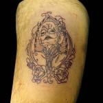 27-10-2014 Tattoo Donna Scheletro