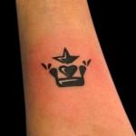 29-01-2015 Tattoo Corona con Stella