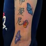 29-05-2014 Tattoo Farfalla 3 di 3 Colore