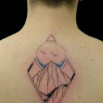 29-11-2014 Tattoo Monti con sfondo Luna